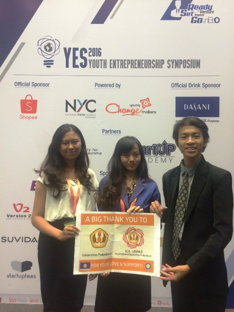 Tiga Mahasiswa Unpad Mewakili Indonesia dalam Youth Entrepreneurship Symposium di National University of Singapore